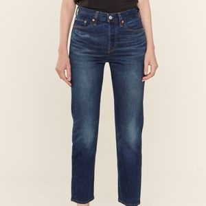 Womens Levis High Waisted Mom Jeans Size 29 x 30